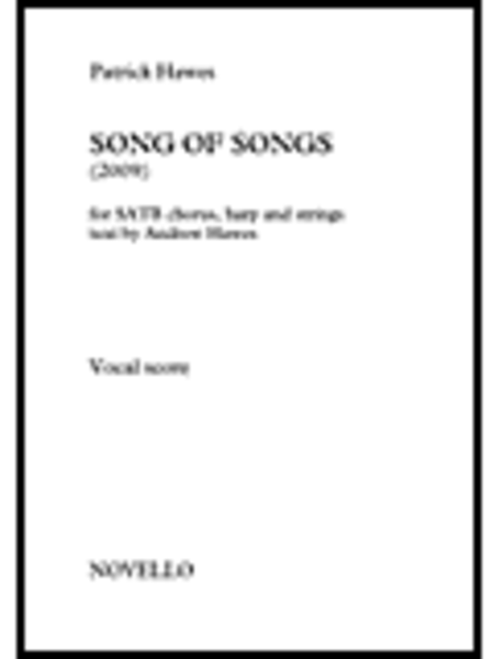 Patrick Hawes: Song Of Songs (Vocal Score)