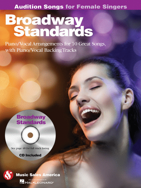Broadway Standards - Audition Songs for Female Singers