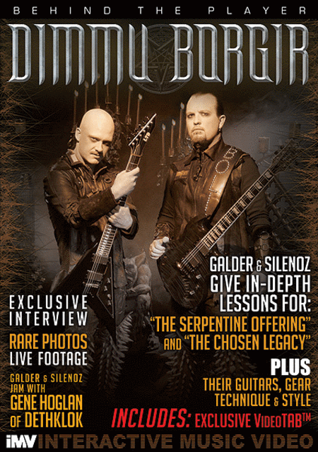 Behind the Player -- Dimmu Borgir Guitarists Galder & Silenoz
