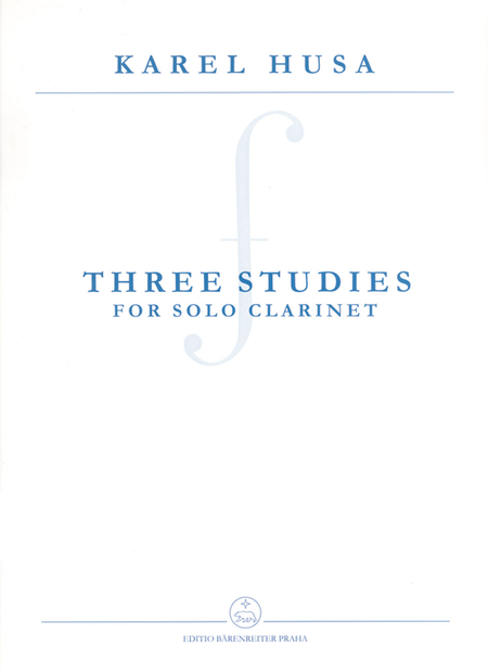 Three Studies for Solo Clarinet