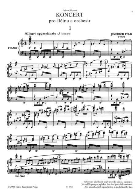 Konzert fur Flote, Streichorchester, Klavier, Harfe und Schlagzeug