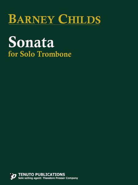 Sonata For Solo Trombone