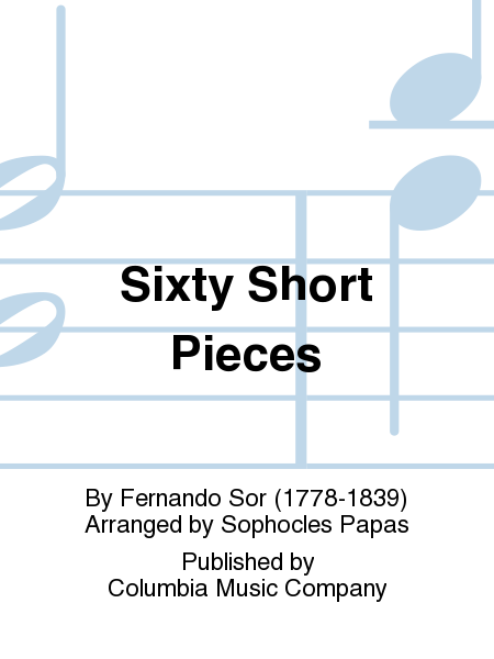 Sixty Short Pieces