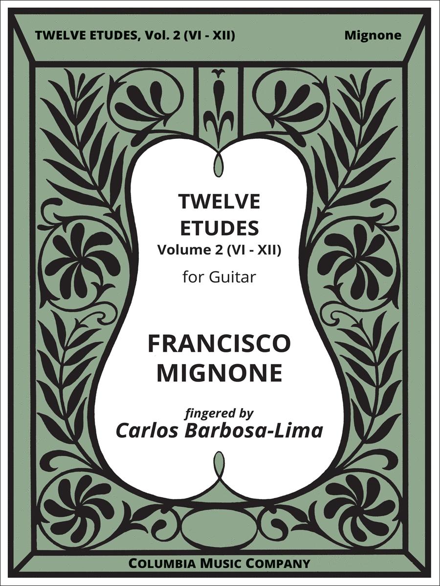 Twelve Etudes - Volume Two