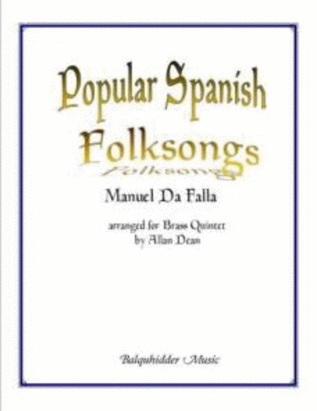Popular Spanish Folksongs