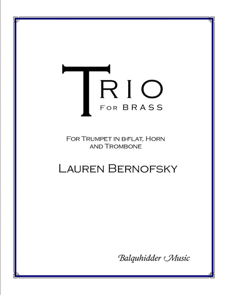 Trio for Brass