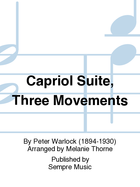 Capriol Suite, Three Movements