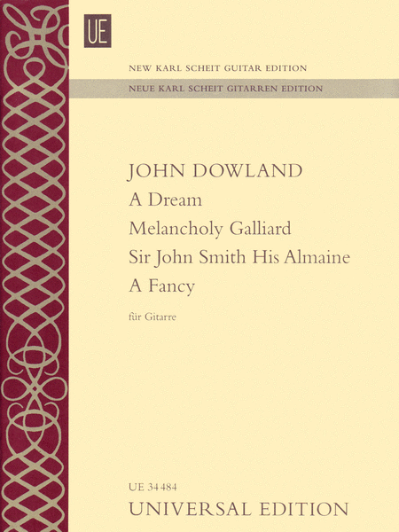 A Dream - Melancholy Galliard - Sir John Smith His Almaine - A Fancy