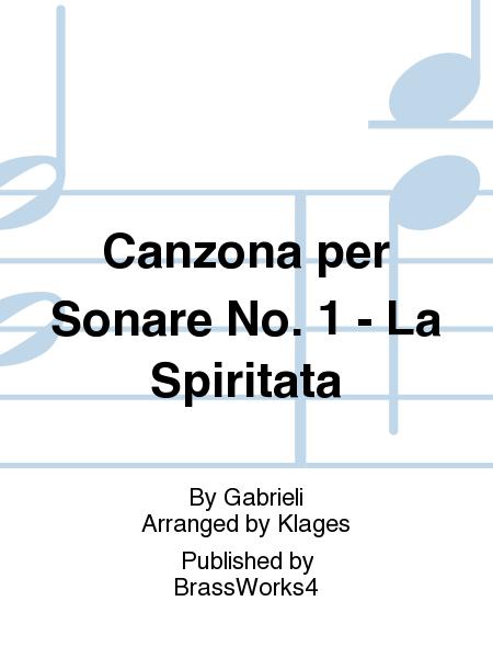 Canzona per Sonare No. 1 - La Spiritata