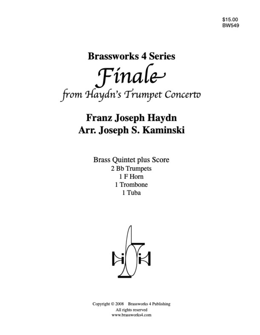 Finale from Haydn's Trumpet Concerto
