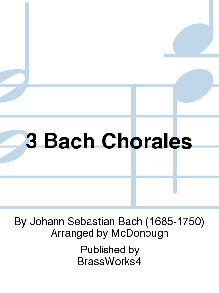 3 Bach Chorales