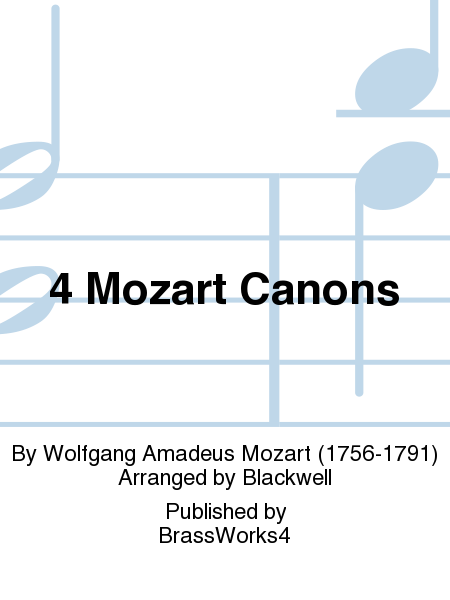 4 Mozart Canons