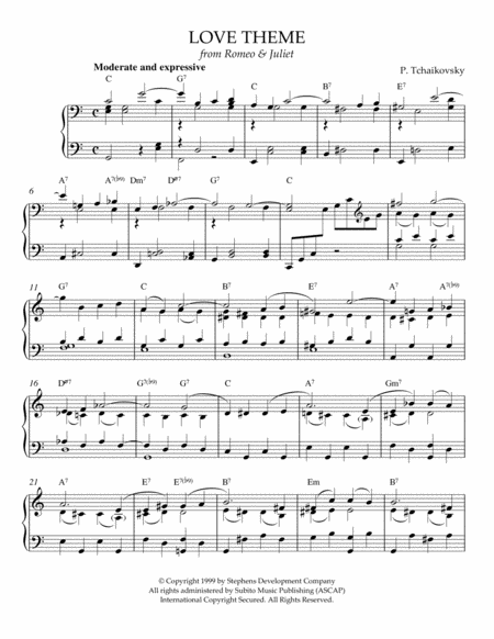 Love Theme from Romeo And Juliet