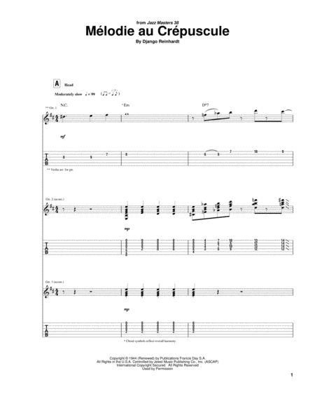 Melodie Au Crepuscule