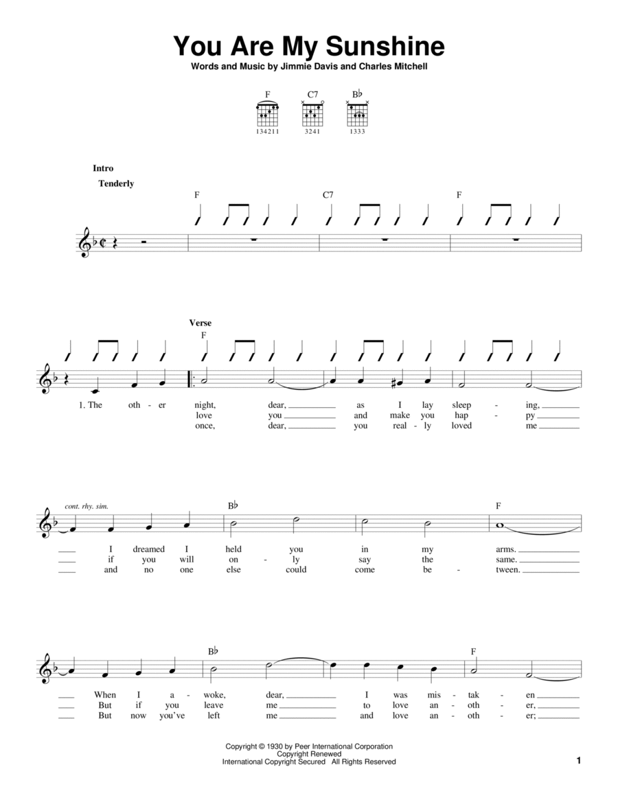 Banjo : banjo tablature you are my sunshine Banjo Tablature , Banjo Tablature Youu201a Banjo ...