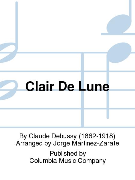 claude debussy clair de lune guitar pdf
