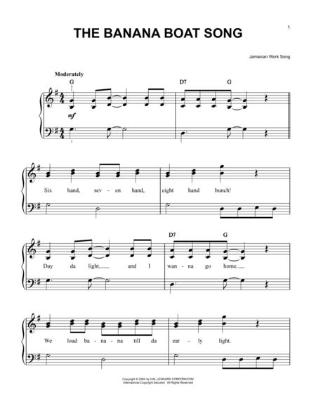 The Banana Boat Song (Day-O)