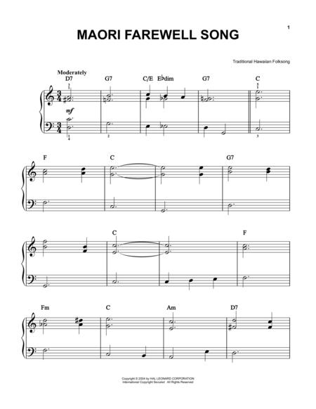 Maori Farewell Song