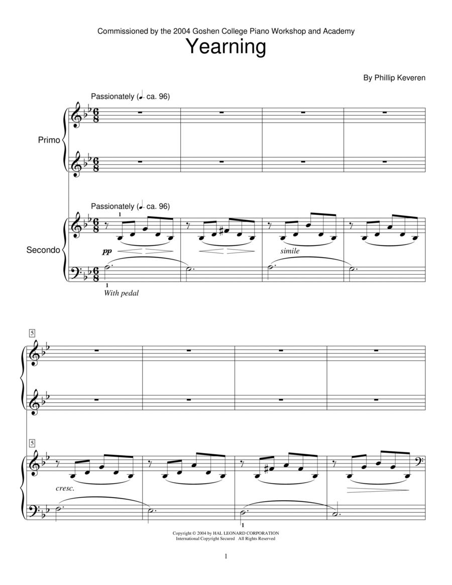 Yearning (Piano Duet)