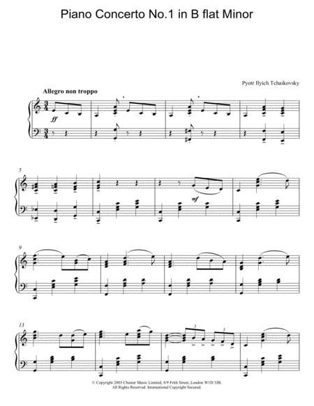 Piano Concerto No. 1 In Bb Minor