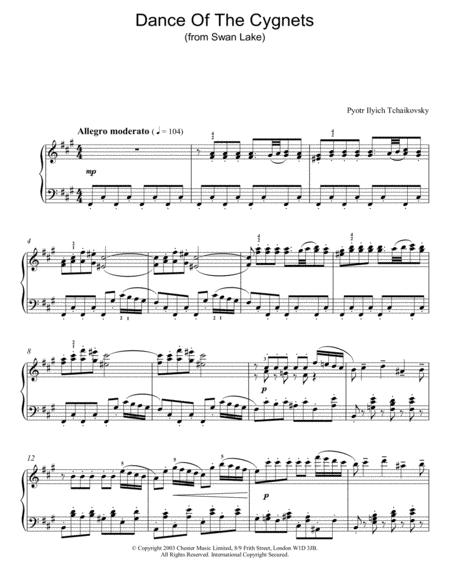 Swan Lake, Op. 20 (Dance Of The Cygnets)