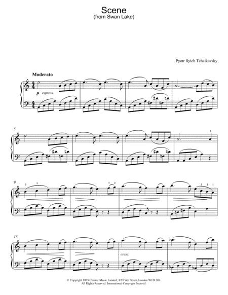 Swan Lake, Op. 20 (Scene)