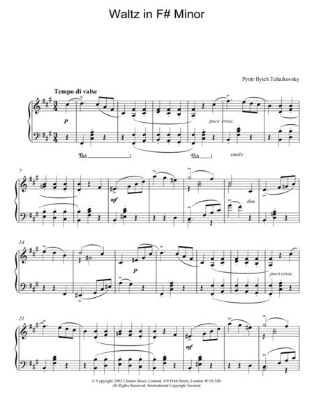 Waltz in F# Minor