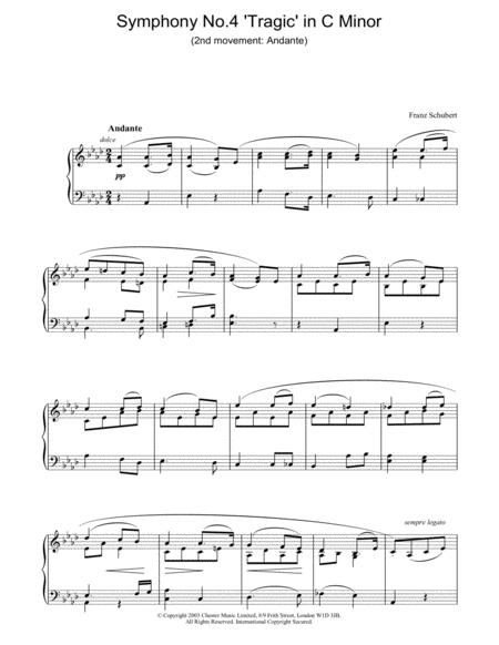 Symphony No.4 'Tragic' in C Minor - 2nd Movement: Andante