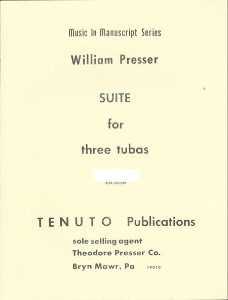 Suite for 3 Tubas