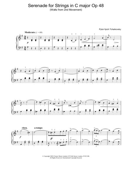 Serenade for Strings in C major Op 48