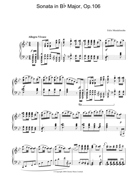 Sonata in Bb Major, Op.106