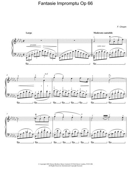 Fantasie Impromptu Op. 66 (Largo)