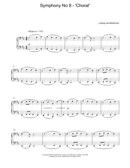 Symphony No 9 - 'Choral'