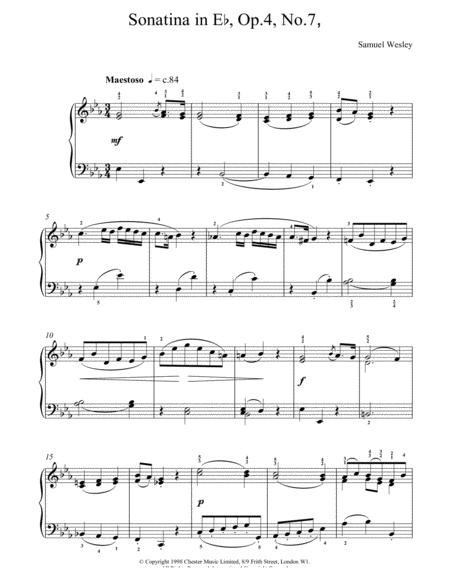 Sonatina Op4 No7