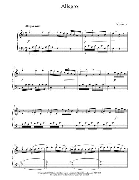 Allegro In F