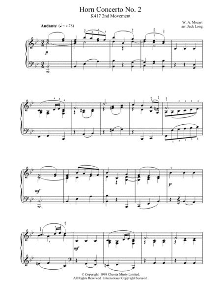 Horn Concerto No. 2