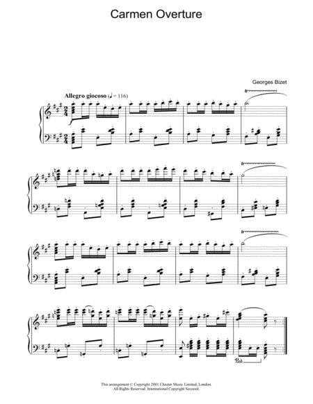 Overture from Carmen