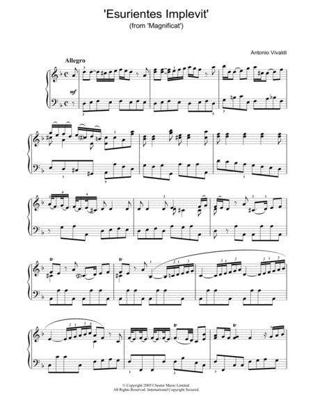 'Esurientes Implevit' (from 'Magnificat')