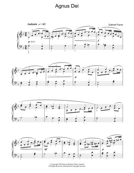 Agnus Dei (from 'Requiem')
