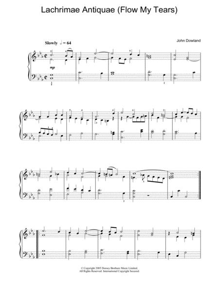 Lachrimae Antiquae (Flow My Tears)