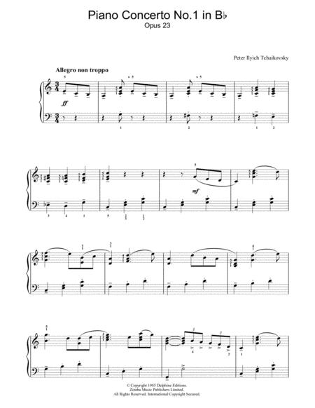 Piano Concerto No 1 in B Flat Minor, Opus 23