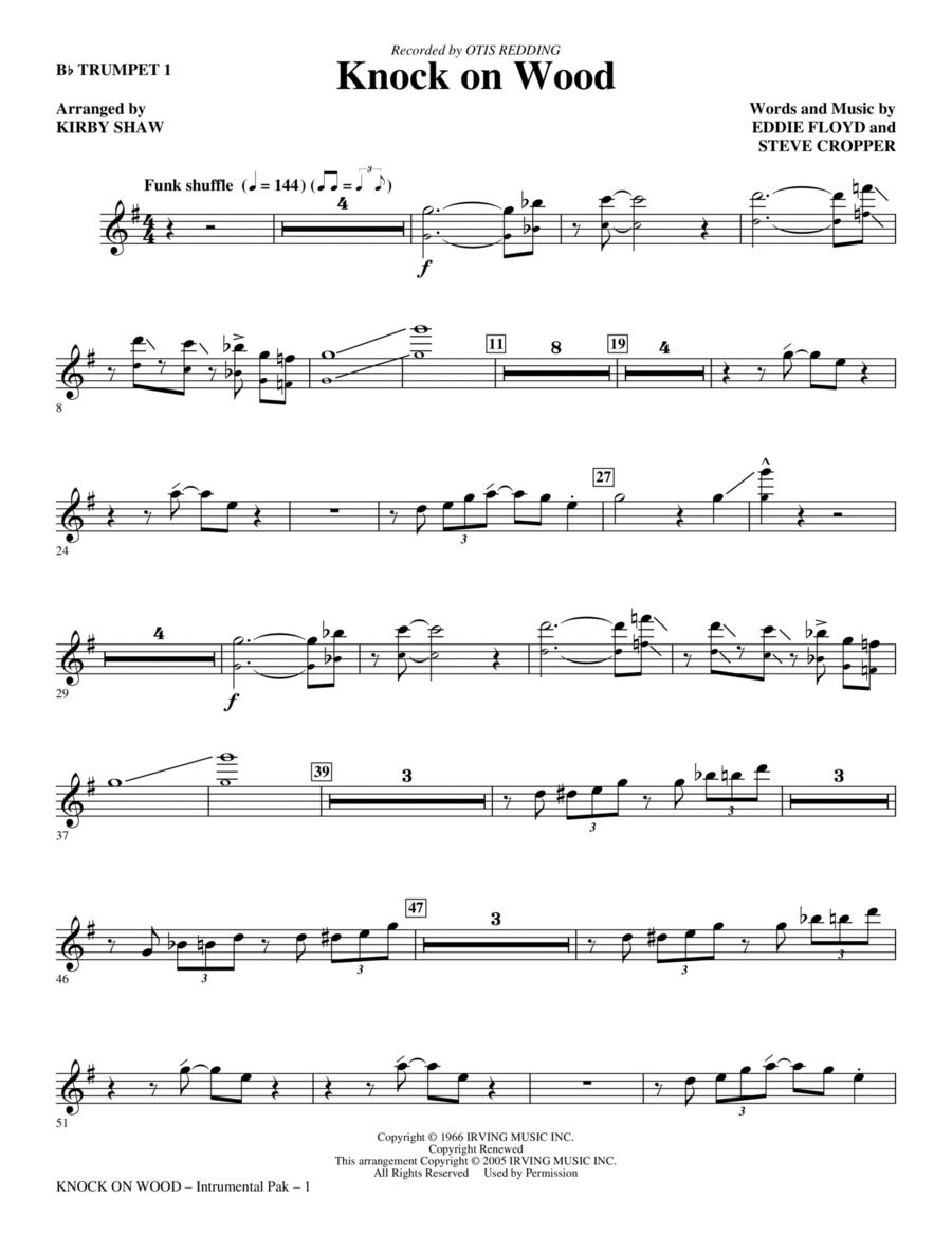 Knock On Wood - Bb Trumpet 1
