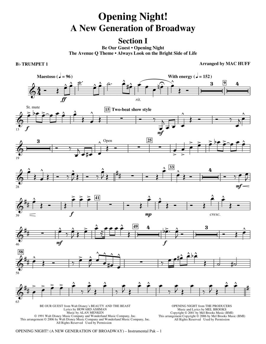 Opening Night - Bb Trumpet 1