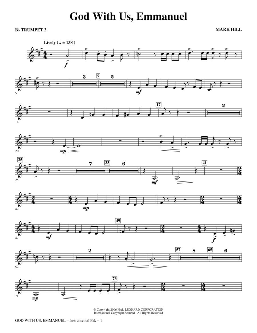 God With Us, Emmanuel! - Trumpet 2
