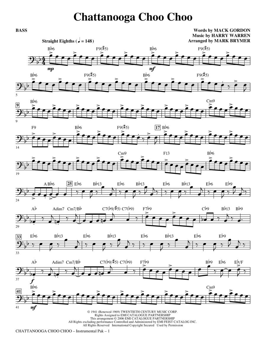 Chattanooga Choo Choo - Bass