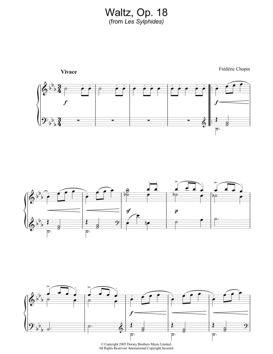 Waltz Op. 18 (from Les Sylphides)