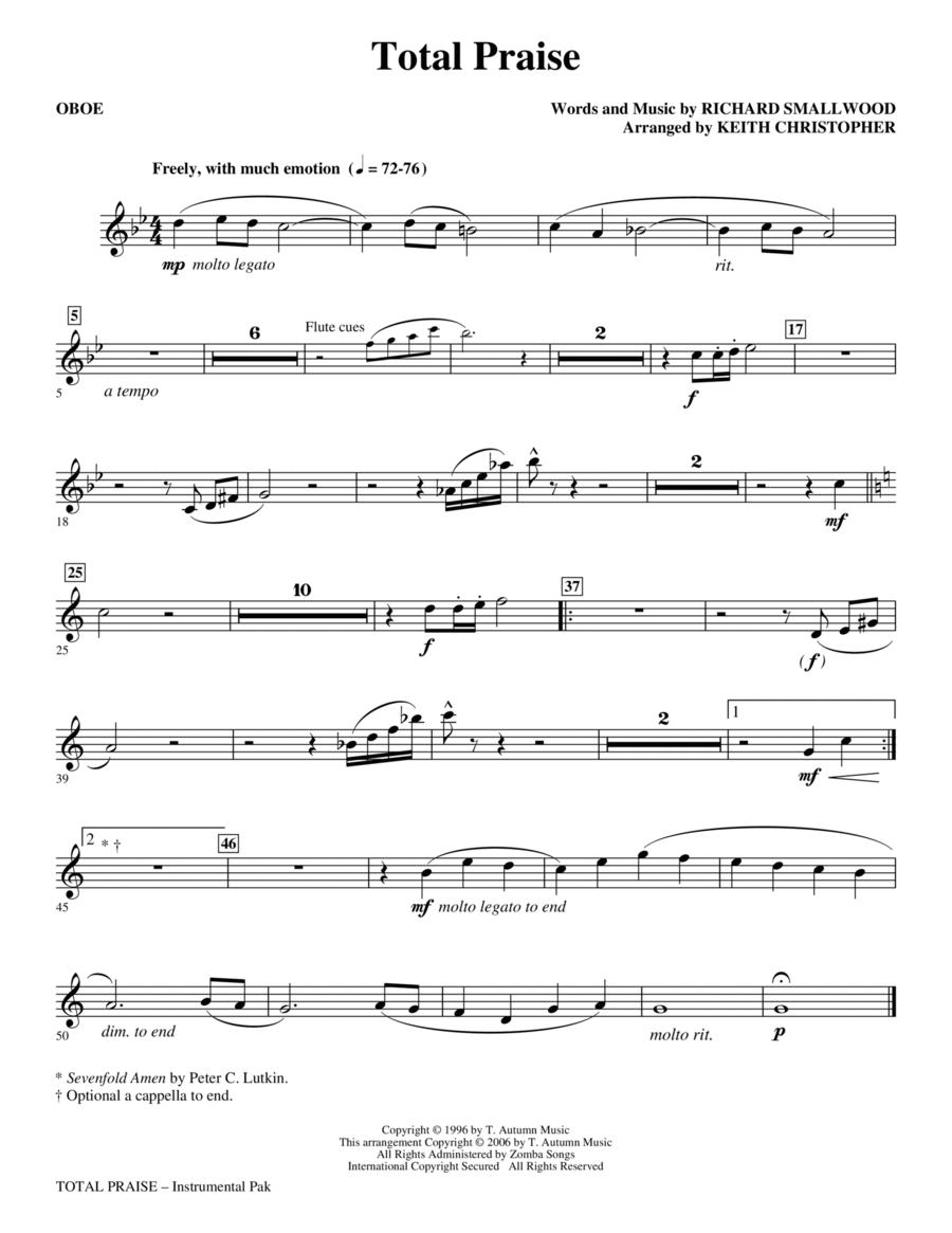 Total Praise - Oboe