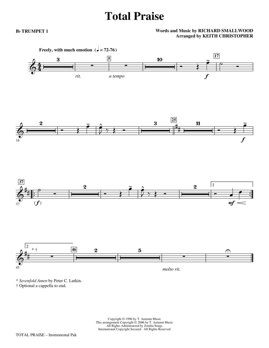 Total Praise - Bb Trumpet 1