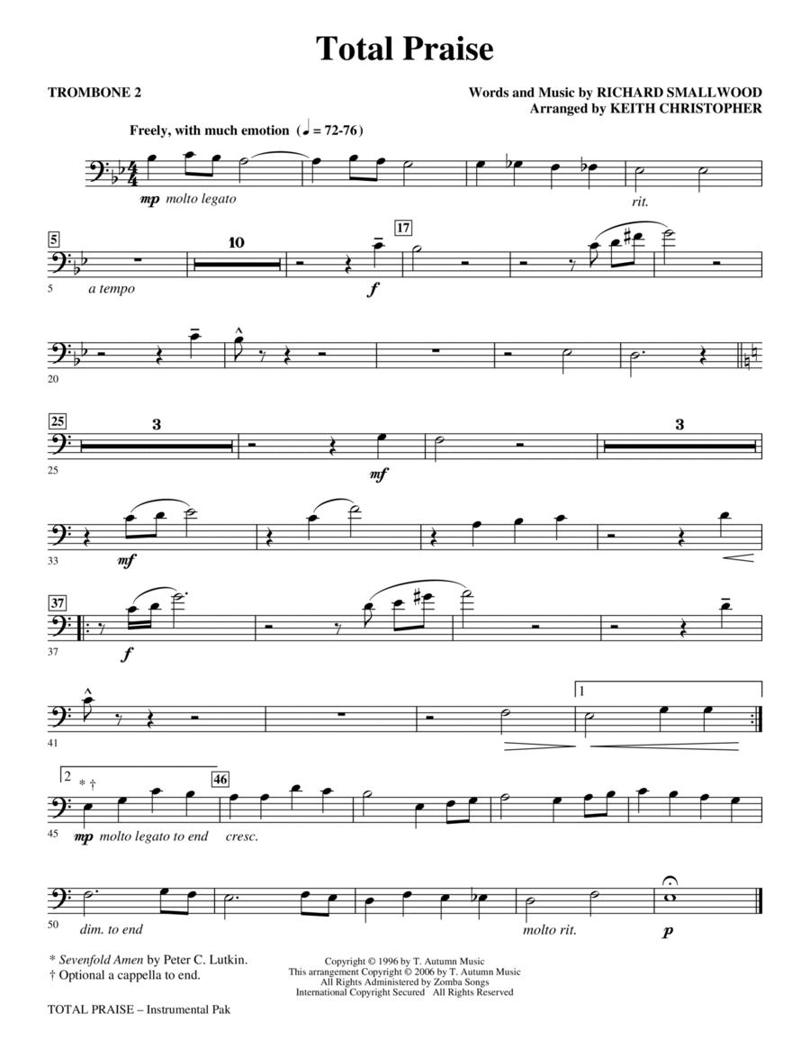 Total Praise - Trombone 2