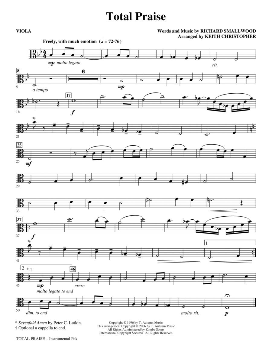 Total Praise - Viola